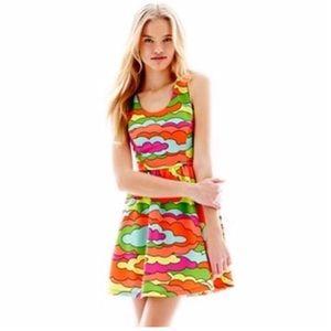 57bf3862a3 Nanette Lepore Skater Dress on Poshmark